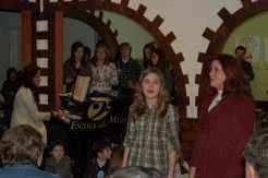 Sarau na escola de música da professora Josélia Jantsch Ferla