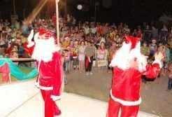 Papai Noel será atração para os baixinhos