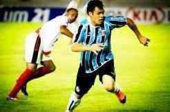 Atacante Kléber marcou o segundo gol da equipe tricolor_Jorge Henrique/FuturaPress