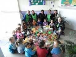 Material comprado pela secretaria da Educação ajuda no desenvolvimento das crianças