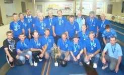 Grupo de bolonistas do União de Arroio Grande