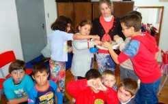 Programa mantém os alunos em turno integral na escola