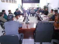 Reunião ocorreu na Câmara de Vereadores de Travesseiro