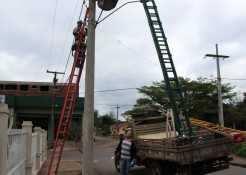 Cerca de 200 pontos de iluminação pública de vias urbanas e rurais já foram consertados