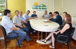 Líderes estiveram reunidos essa semana no gabinete do Executivo_Carina Marques
