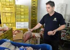 Alimentos fracionados devem conter rótulos com identificação de validade, procedência e licença do órgão fiscal competente