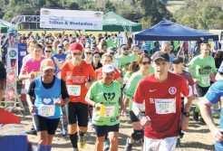 Atletas de todas as idades, de várias regiões do país e exterior participaram das Trilhas do Gaúcho