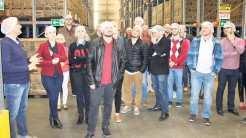 Grupo visitou as instalações e conheceu a rotina da indústria