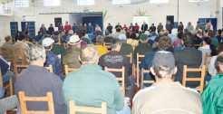 Mais de 300 pessoas acompanharam a Audiência Pública  que teve como objetivo discutir a crise na cadeia leiteira no Estado que se evidenciou com a importação de leite do Uruguai com alíquotas menores às praticadas aqui