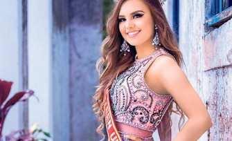 Júlia disputa o título com mais 25 candidatas em evento que será realizado em Mato Grosso do Sul