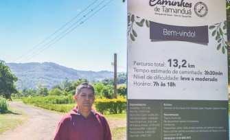 Alício de Assunção coordena o projeto que envolve os municípios do Vale do Taquari e deve resultar em 40 caminhos autoguiados
