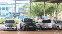 Um dos acesso pode ser pela rua Bento Gonçalves, via da Escola Guararapes