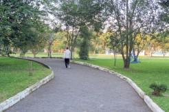 Grupo sugere reforma na ponte e a não colocação de asfalto nas trilhas de caminhada