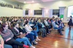 Grande público prestigiou o workshow de Sonia Mara do Nascimento