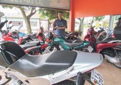 Lair: Preferência é pelas motocicletas com preço de até R$ 3 mil