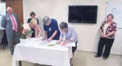 Oficialização ocorreu na manhã de quarta-feira no auditório da instituição hospitalar em Estrela