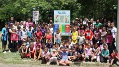 Placa de orientação e conscientização foi instalada sexta-feira no bairro Navegantes