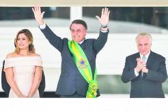 Presidente Jair Bolsonaro defendeu o fim da corrupção, privilégios e vantagens e disse que seu governo irá  propor e implementar as reformas necessárias para o país voltar a crescer_Marcelo Camargo Agencia Brasil