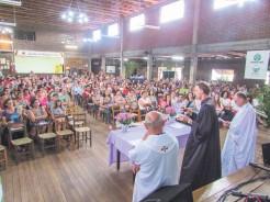 Celebração foi realizada pelos padres Alfonso Antoni e Laudenor Telöken e pelo pastor Vamir Simon
