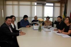 Presidente do Consisa e equipe estiveram reunidos com Secretária essa semana