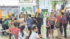 Em novembro foi realizada a Feira Municipal da Saúde, com serviços para toda a comunidade