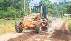 Secretaria prioriza recuperação de estradas municipais