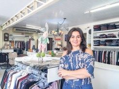 Leonisia lembra que, ao comprar em Arroio do Meio, o consumidor está impulsionando o desenvolvimento do município e gerando renda e empregos