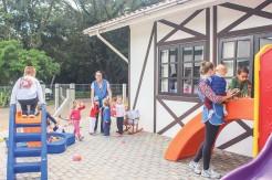 Os impostos retornam em investimentos da saúde, educação e infraestrutura – instalação de Educação Infantil/etapa creche em Forqueta