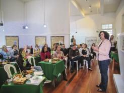 Vice-prefeita, Eluise Hammes informou que acervo foi todo organizado e catalogado com orientação técnica e a próxima fase será a digitalização