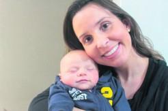 Taís com o filho Valentim: amor incondicional, que supera todos os desafios